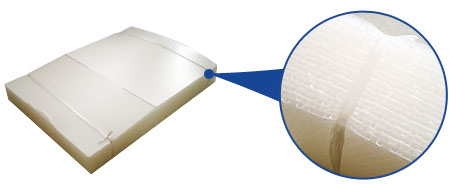 軽量プラダン プラスチック ダンボール 水に強い ダンビーズ