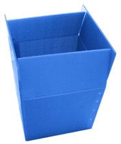 プラスチックダンボール箱